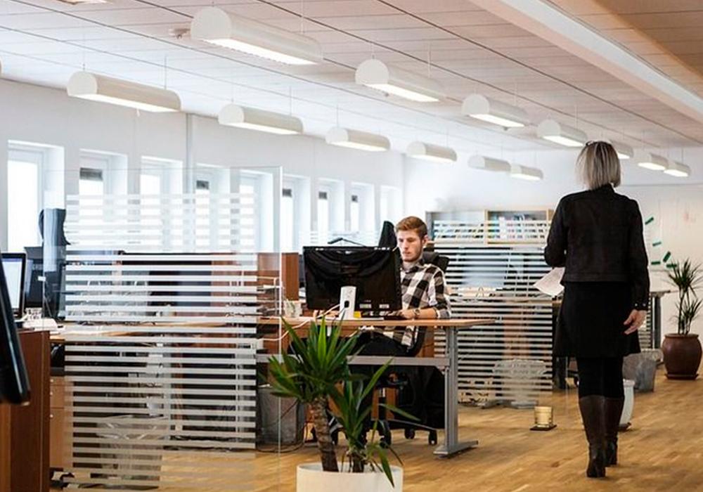 Ventajas de usar mamparas de cristal para dividir el espacio de trabajo